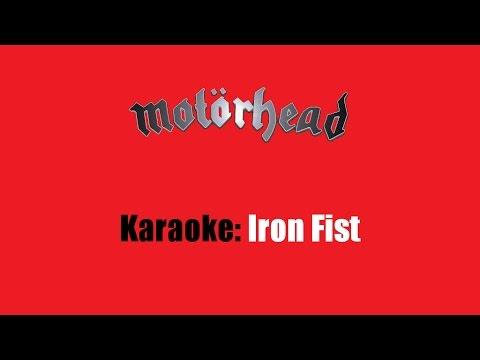 Karaoke: Motörhead / Iron Fist