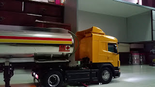 Download Shell tanker with Scania r470