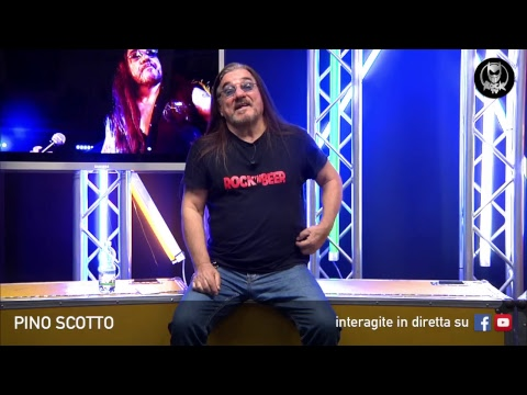 PINO SCOTTO 🔥 LIVE SU ROCK TV 🤘🏻📲 18 DICEMBRE 2018