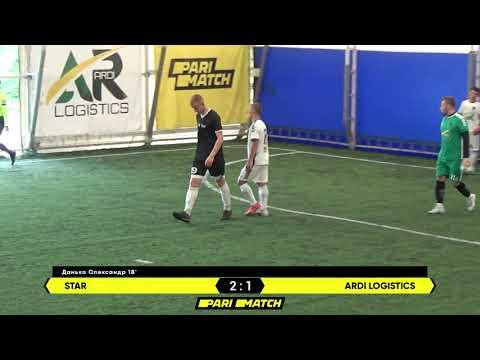 Огляд матчу | STAR 3 : 3 ARDI Logistics
