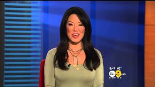 Sharon Tay 2012/11/13 KCAL9 HD