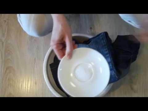 Как вывести неизвестное пятно с одежды