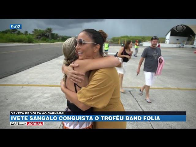 Ivete Sangalo conquista o Troféu Band Folia 2019