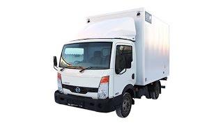 NISSAN Cabstar Промтоварный с гидробортом фургон 15 м3, 5 европаллет(Обзор Nissan Cabstar. Коммерческий автомобиль японского производства. Базовые шасси полностью собираются в корее..., 2014-02-24T20:39:15.000Z)