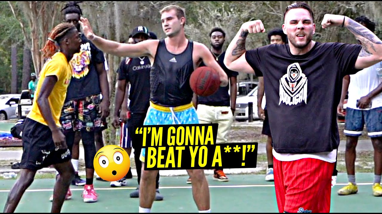 """Download """"We Gon' BEAT YO A** Out Here"""" We BARELY Made It Out The Park! 5v5 w/ Crswht & East Coast Squad!"""