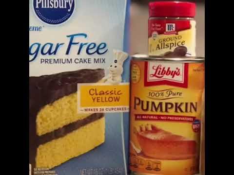 2SP Pumpkin Spice Muffins (Weight Watchers Freestyle)