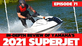 2021 Yamaha SuperJet Review; The Watercraft Journal, EP. 71