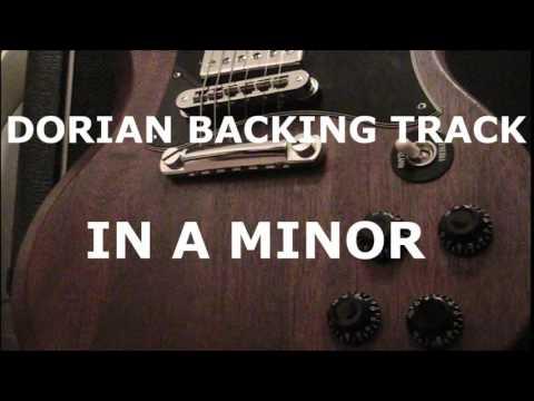 A dorian Backing Track - Santana Style