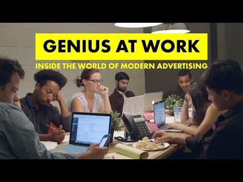 GENIUS AT WORK: Inside the World of Modern Advertising #AdhocXAdweak