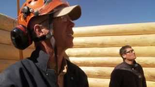 Energy Efficient Log Cabin Construction: Nenana, Alaska