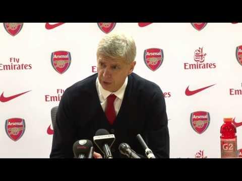Arsene Wenger Post Match Everton Press Conference 08/12/2013