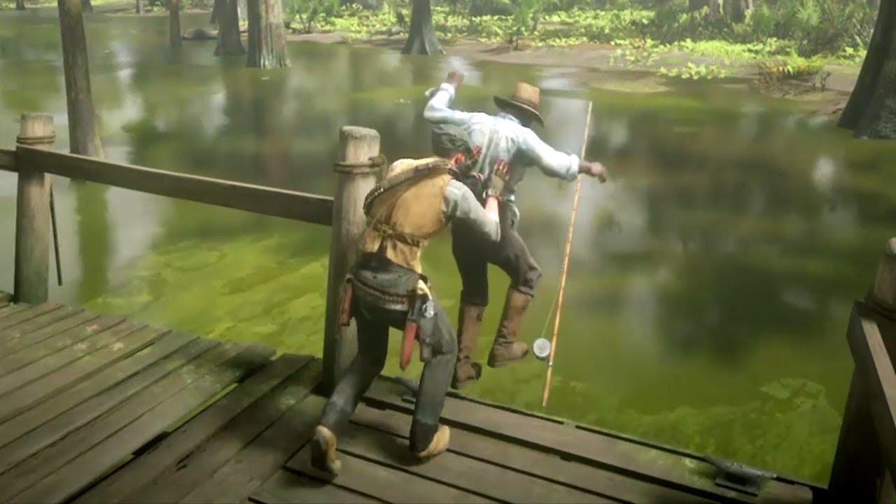 Red Dead Redemption 2 - Funny & Brutal Moments Vol. 35 (Euphoria Ragdolls)