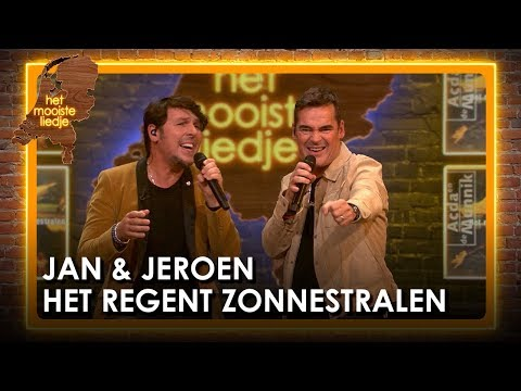 Jan Dulles & Jeroen Van Der Boom - Het Regen Zonnestralen | Het Mooiste Liedje