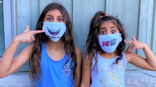 Deema and Sally with Mask for Kids stories