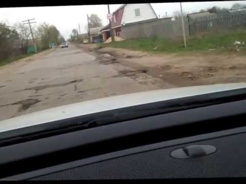 дорога в спасском районе