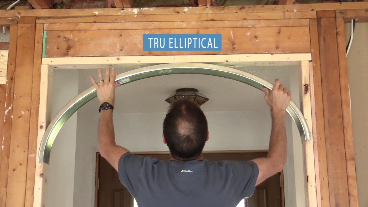 How to make a drywall arch 42