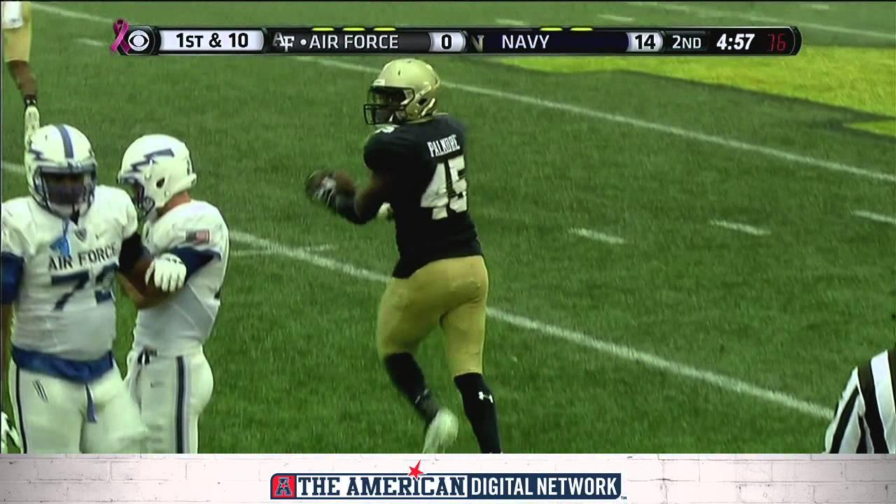 Football Highlights: Navy 33, Air Force 11 - YouTube