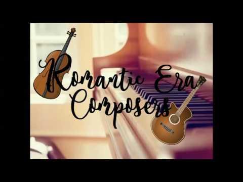 Five Romantic Era Composers