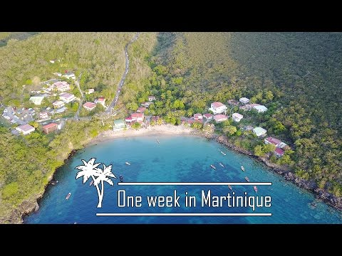 One week in Martinique (Aerial Footage)