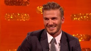 David Beckham on his Father/Son rivalry with Brooklyn - The Graham Norton Show: Series 18 - BBC