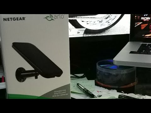 Review of the netgear Arlo solar panel