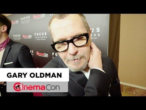 Darkest Hour | Gary Oldman Interview | CinemaCon 2017