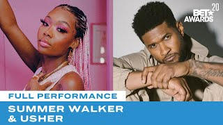 """Download Summer Walker & Usher Bring The Vibes With Performance Of """"Session 32"""" & """"Come Thru""""   BET Awards 20 Mp3 and Videos"""
