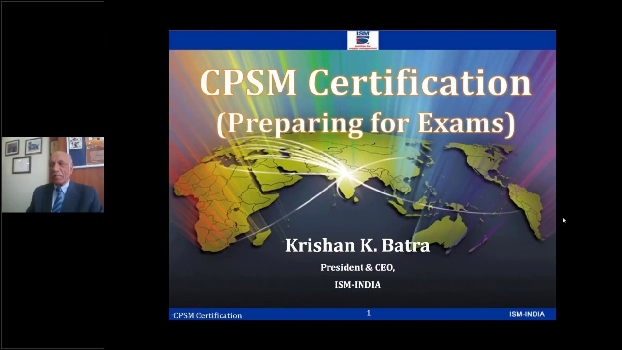 Overview Of Cpsm Exam 1 2 3 Youtube