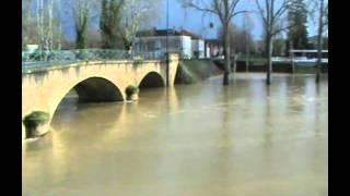 Crue du 21 janvier 2013 à Plaisance du Gers