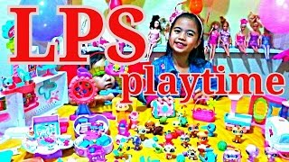 LPS Littlest Petshop Huge Collection Playtime Random Play l Kids Balloons and Toys