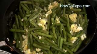 Scrambled Eggs With Green Beans Recipe