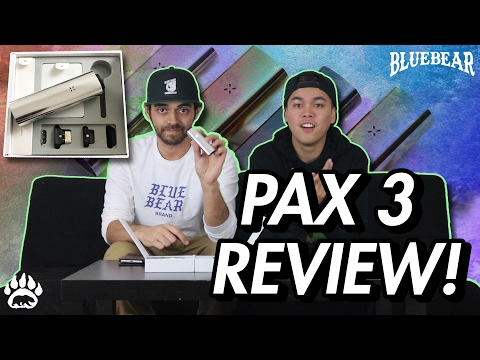 the 📱iPHONE of Vaporivors! 💨PAX 3 Flower/Concentrate Vaporizer Review