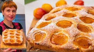 Абрикосовый пирог к чаю - рецепт станет хитом ваших домашних чаепитий!