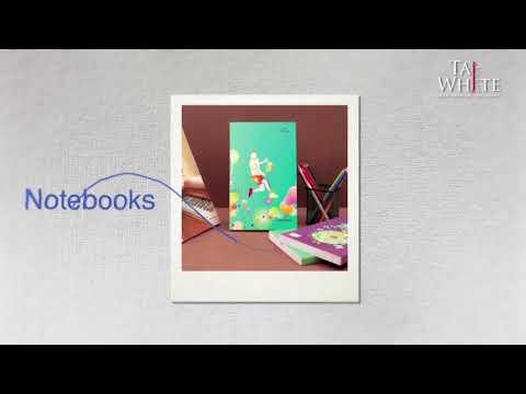 TajWhite notebook range