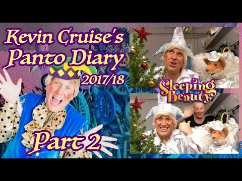 Kevin cruise's Panto Diary 2017/18 Featuring BASIL BRUSH