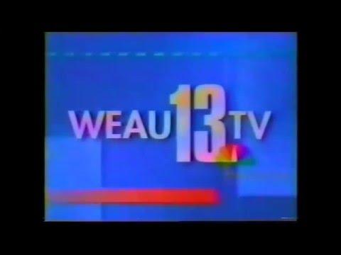 WEAU NewsCenter 13 6PM Open (1997)