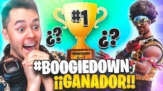 SOY EL GANADOR...? #BOOGIEDOWN de FORTNITE! - TheGrefg