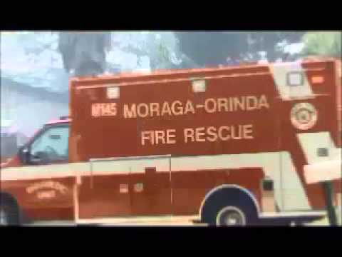 moraga orinda house home grass fire