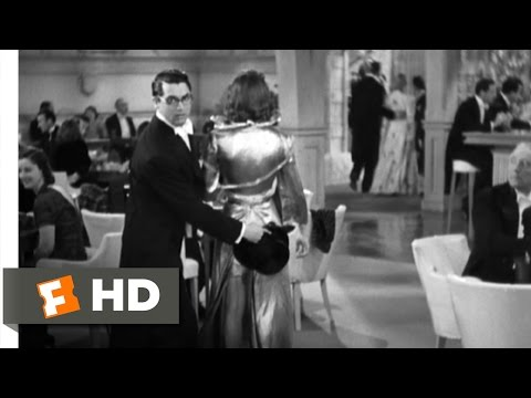 Bringing Up Baby (1/9) Movie CLIP - The Torn Dress (1938) HD