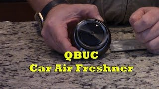 QBUC Car Air Freshener Product Review