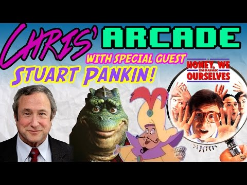 Famous Hollywood and Disney Actor Stuart Pankin  Celebrity   Chris' Arcade