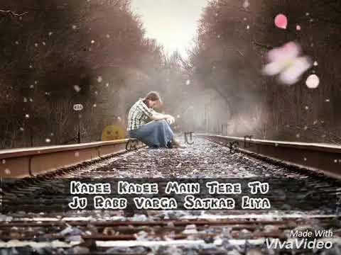Miss U-Kaur B Whatsapp lyric status sad song