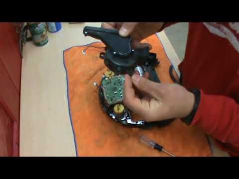 ILife A4 Robotic Vacuum - main roller brush bearing replacement