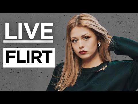 Flirt frauen korpersprache