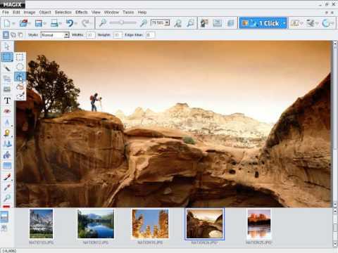 Magix Xtreme Foto Designer | Magix Xtreme Photo Designer Tutorial Francais Youtube