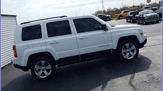 Used White Jeep Patriot 2014