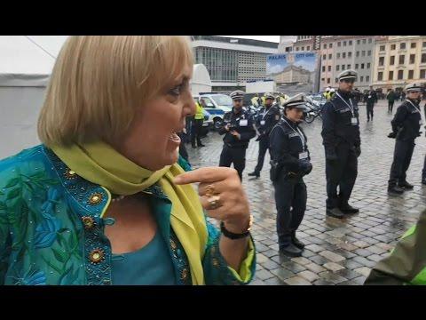 """Dresden: Claudia Roth und die """"Hau-ab""""-Rufer"""