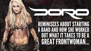 DORO – Starting a band and learning how to be good front woman