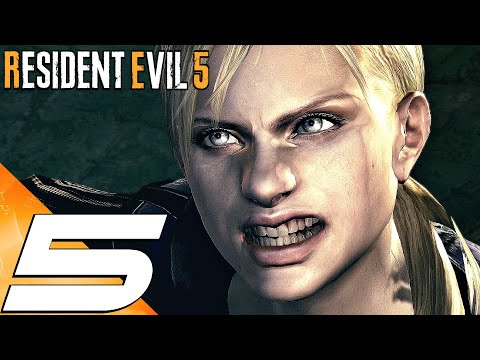 RESIDENT EVIL 5 - Gameplay Walkthrough Part 5 - Jill \u0026 Wesker Boss Fight (4K 60FPS)