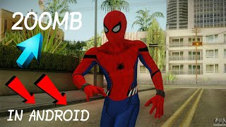Gta san andreas ANDROID spiderman mod pack with power